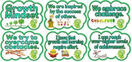 We have a Growth Mindset!!!